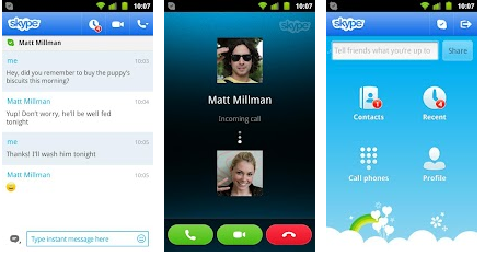 skype for android phones