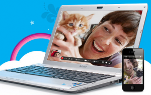 """Video Chat Free Online Video Calls Video Calling Skype1 300x189 Yesterday, I had a professional meeting in a """"chat room."""