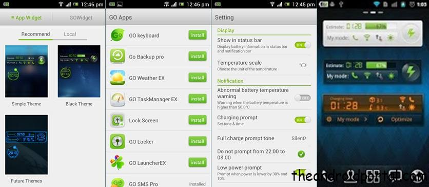 Go Power Master - android phone battery saver