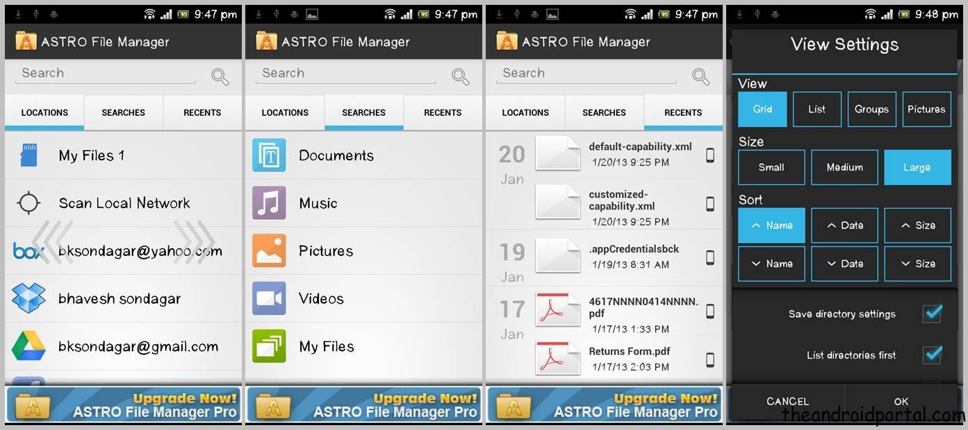 ASTRO File Manager - Sync & Manage Android Files With Cloud