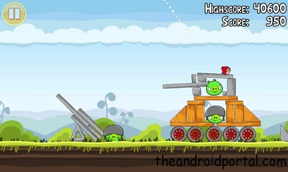 angry birds Top 5 Free Games For Android Smartphones 2013