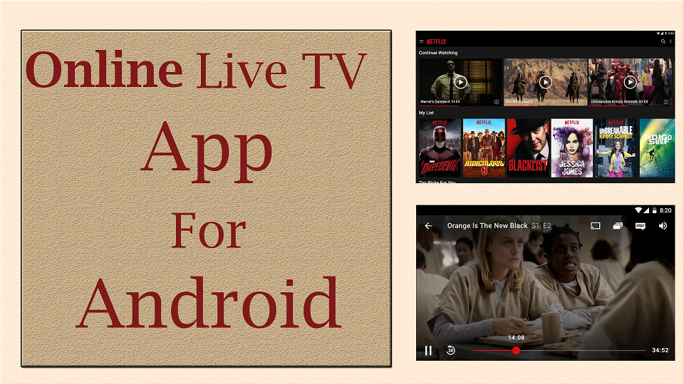 online live tv app for android