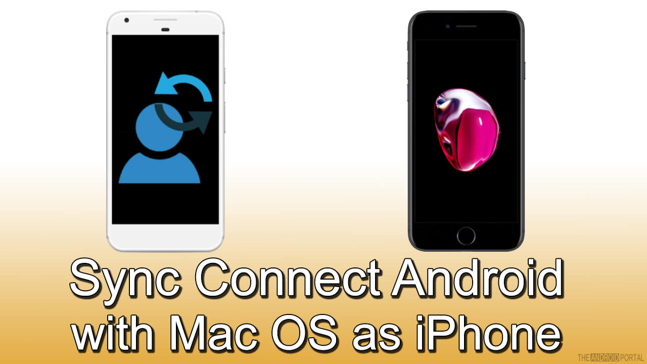 Sync Connect Android with Mac OS as iPhone