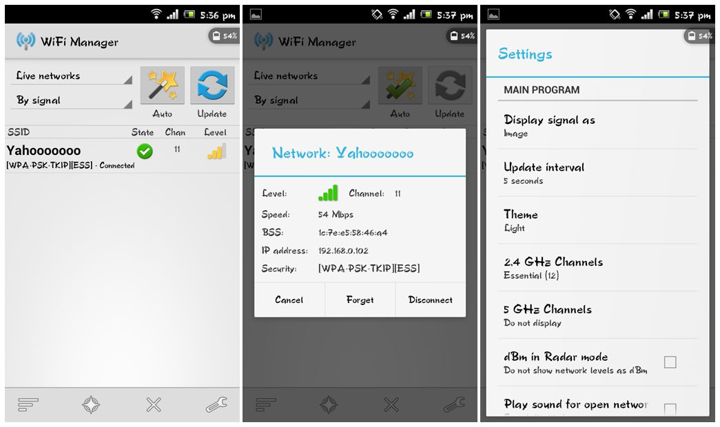 Best WiFi Manager for Android to Manage WiFi Connections