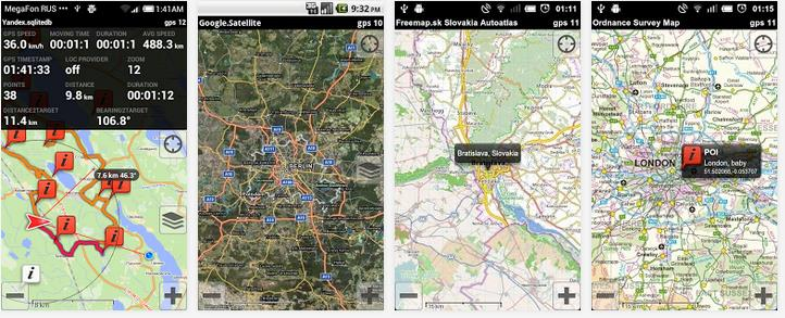 download offline satellite map for android