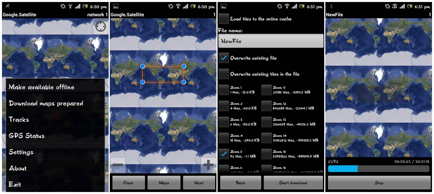RMaps: Offline Maps - Best Free Offline Maps for Android