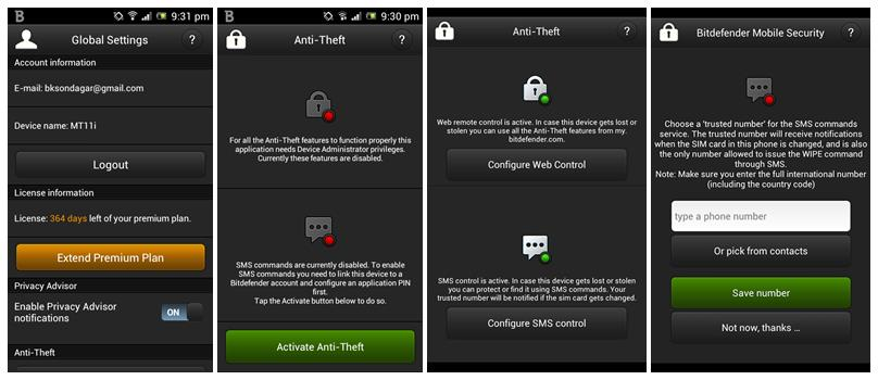 Antivirus Security for Android - Bitdefender Mobile Security