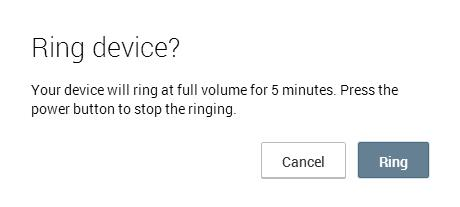 Ringign Android Device Remotely