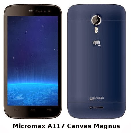Micromax Canvas Magnus A117 Android Phone