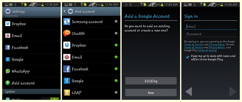 how to set up a second gmail account