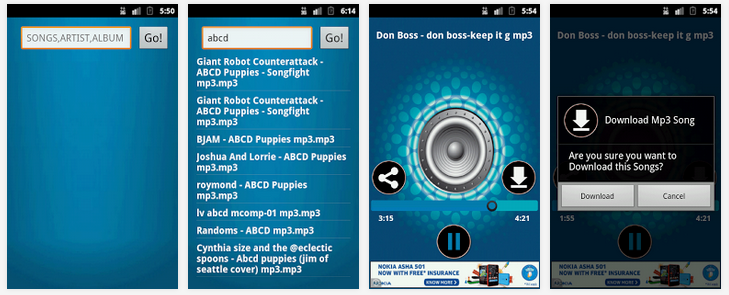Music Downloader Apps for Android - Free Music Downloads