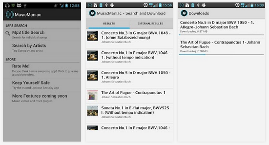 Music Maniac - music downloads free for android