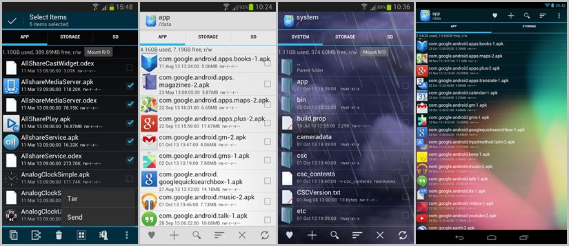 Root Explorer - Best File manager for Root Users