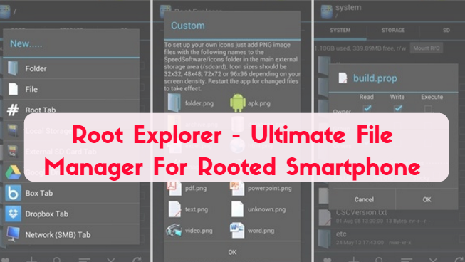 Root Explorer - Ultimate File Manager For Rooted Smartphone