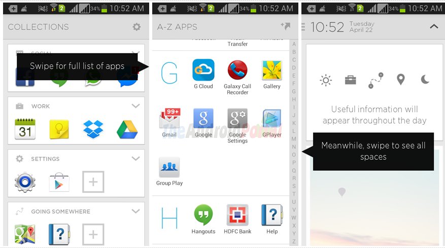 Aviate, The intelligent homescreen that simplifies your phone.