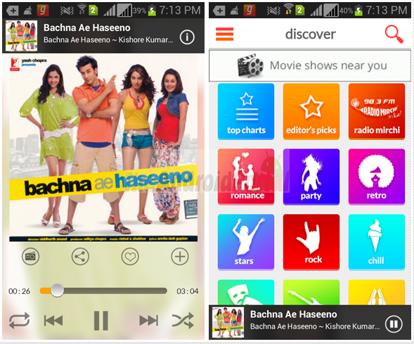 Download Bollywood Songs on Android