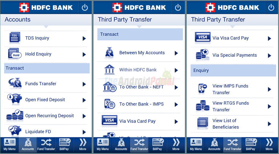 HDFC Bank MobileBanking - Android Apps on Google Play