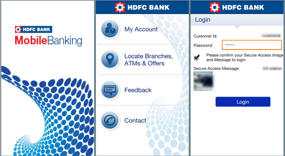 HDFC Mobile Banking App for Android Review, Problems & Features