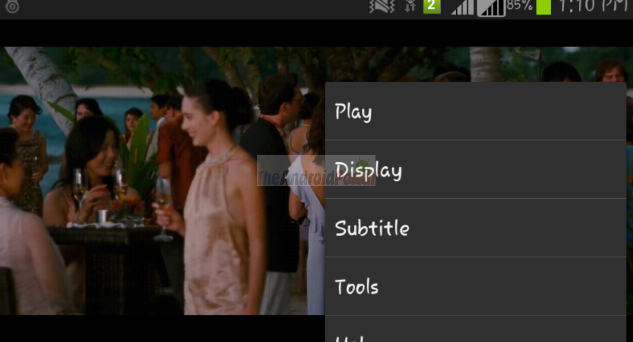 How to Add Subtitle to a Movie on Android smartphones