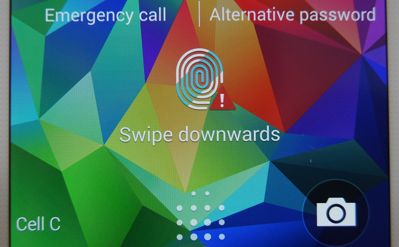 How to Enable Finger Print Screen lock on Samsung Galaxy S5