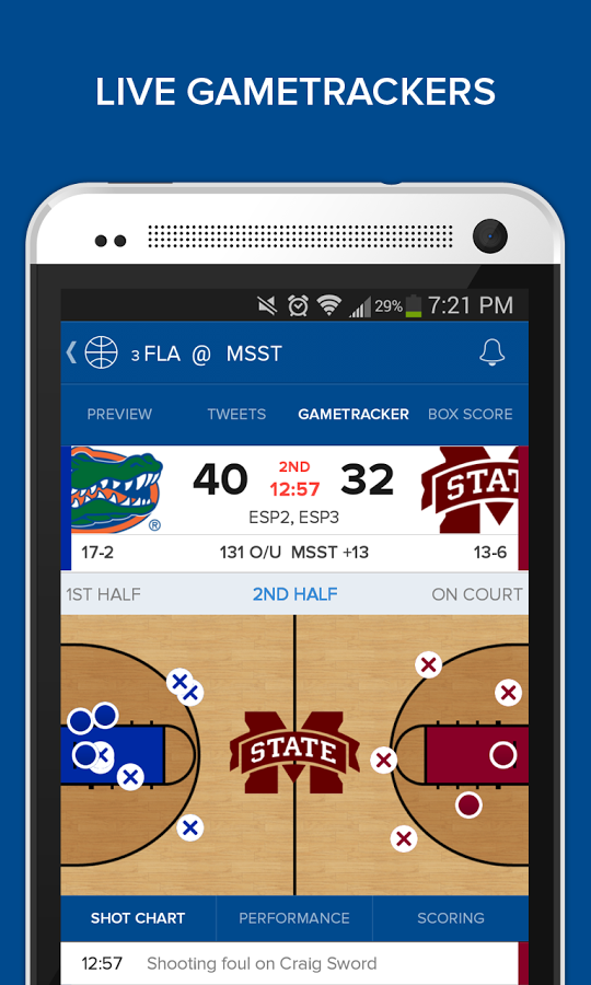 Live Game Trackers