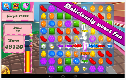 Candy Crush Saga on Google Play Store - best android games