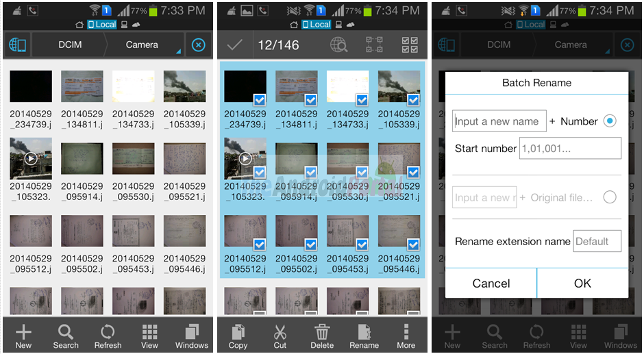 How to Rename Files in Bulk on Android Device