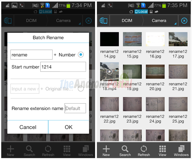 How to Rename Multiple Files on Android Smartphones