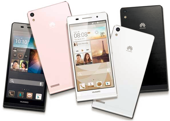 Huawei Ascend P6 Thinnest Smartphone Specs & Features