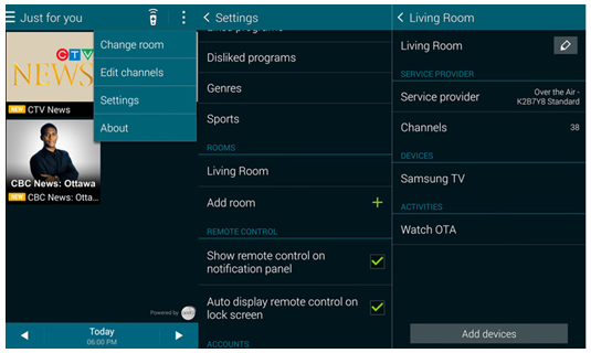 How to Use the Samsung Galaxy S5 as a TV Remote