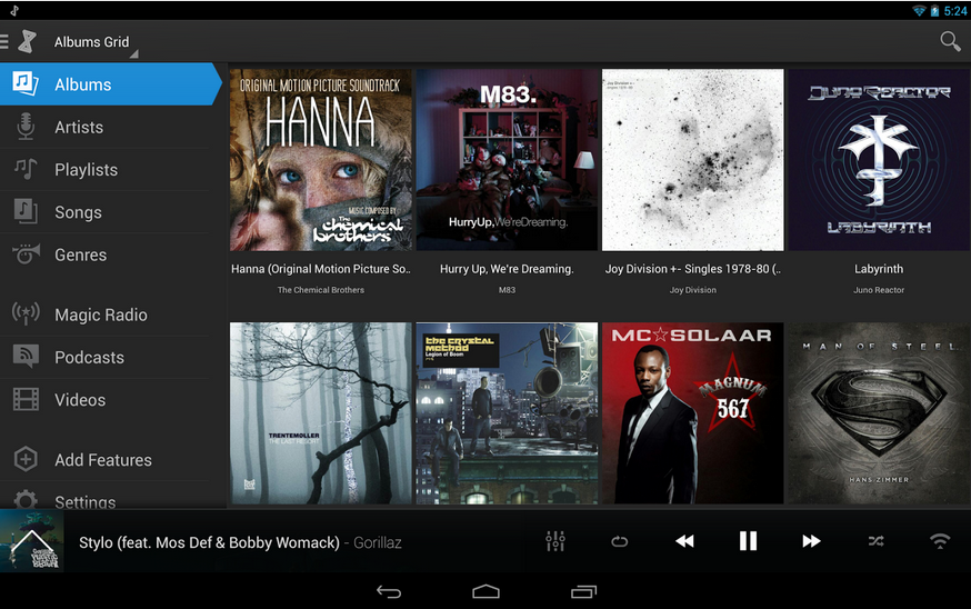 doubleTwist Music Player for Android