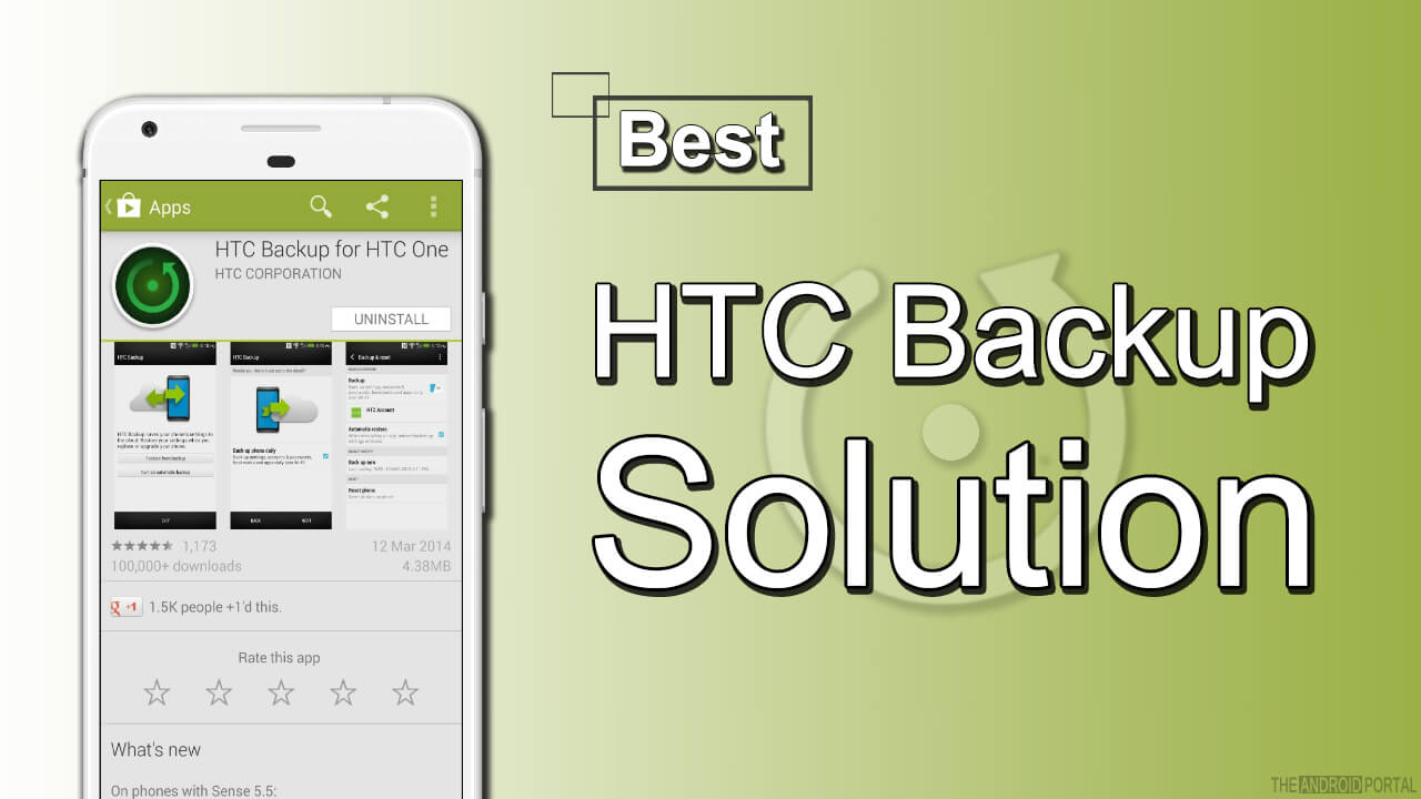 HTC Backup for HTC One App - Best HTC Backup Solution