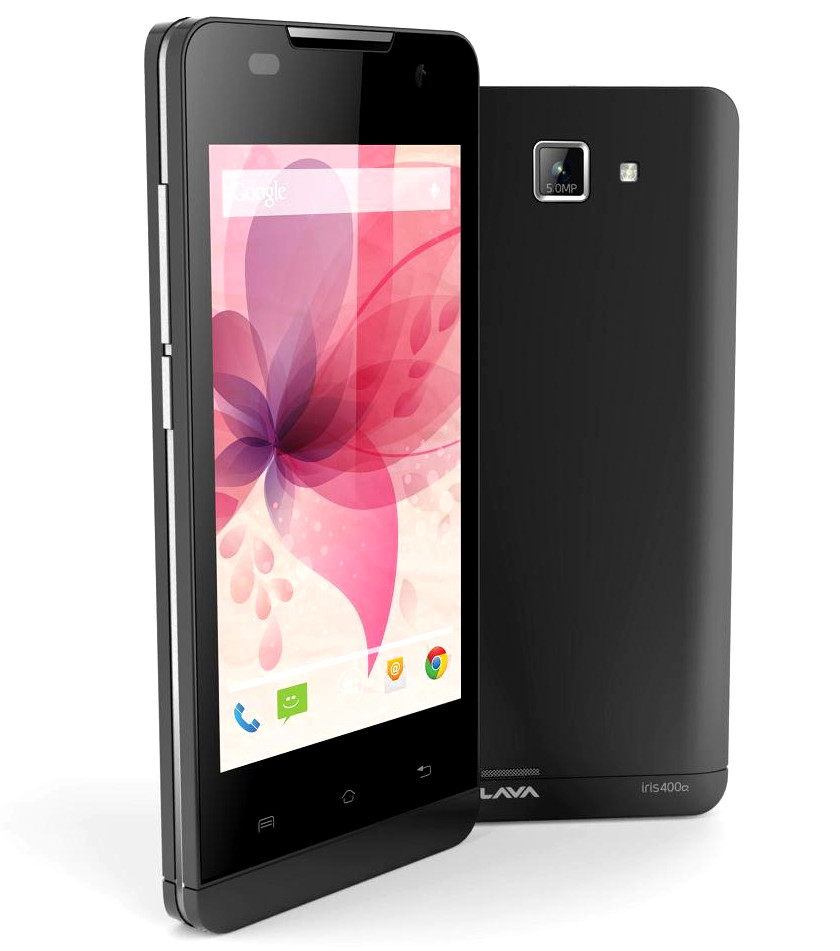 Lava Iris 400Q with Android 4.4 Quad-core processor - Info & Spec