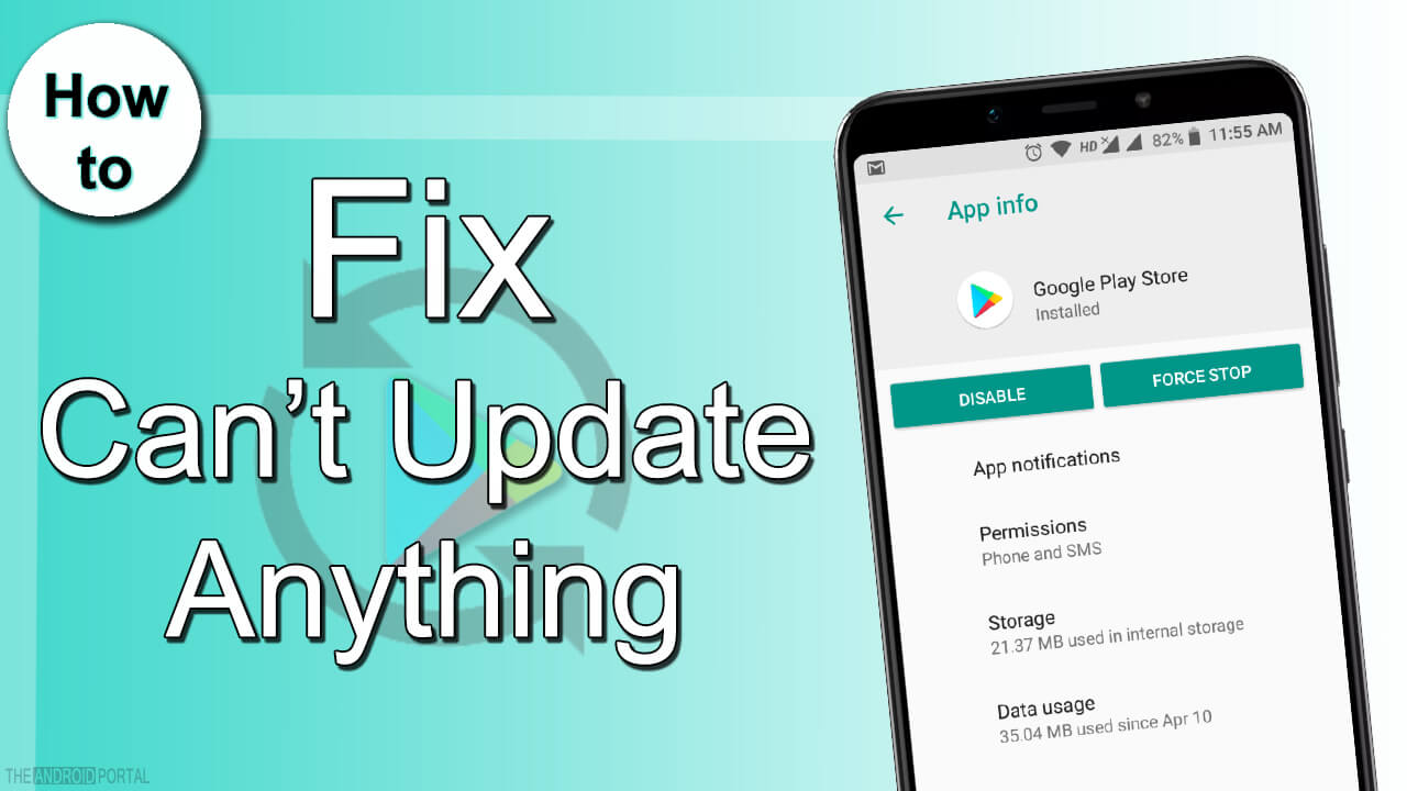 How to Fix – Can't Update Anything From Google Play Store