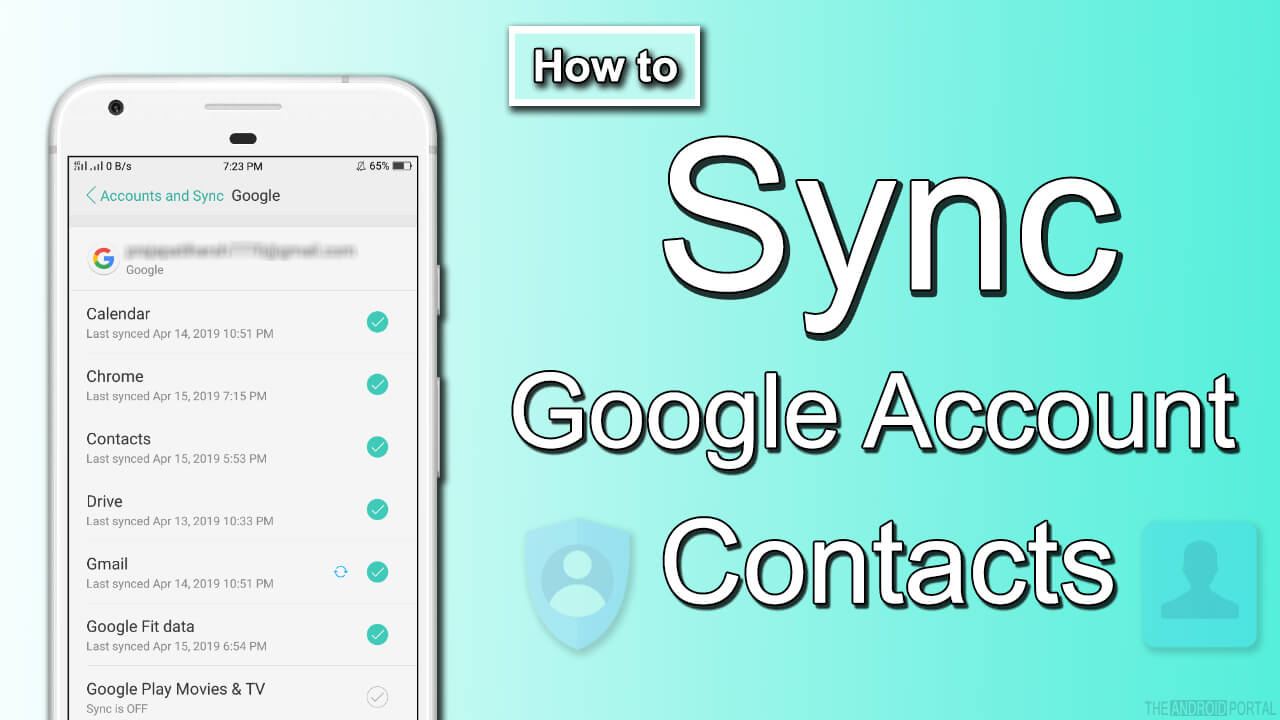 How to Sync Google Account Contacts To Android Device