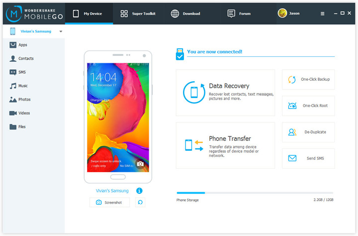 Wondershare data recovery feature
