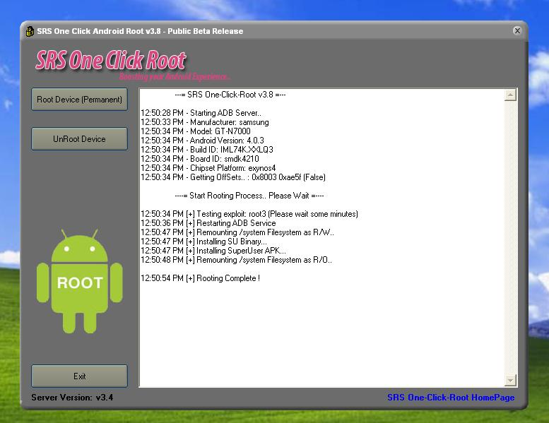 SRS One Click Root