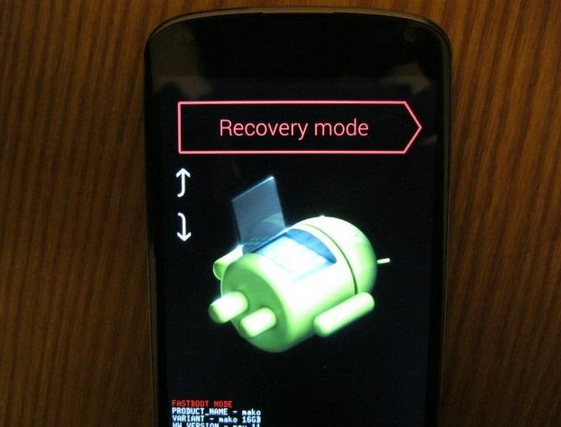 Method 3 to Starting Up Android Device