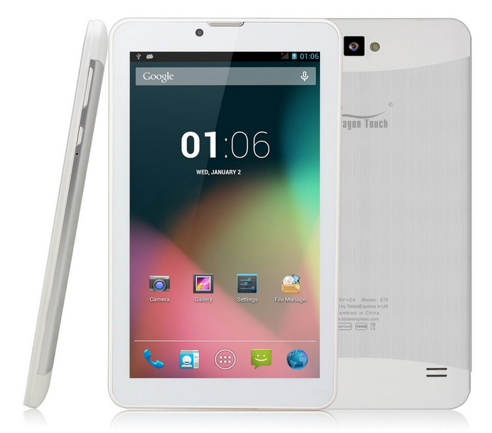 Dragon Touch E70 Tablet