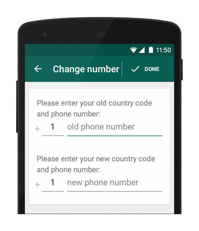 Change Your WhatsApp Phone Number