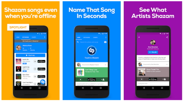 Apps for Identifying Songs