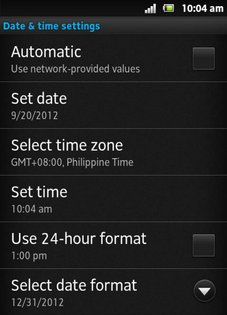 Check your date and time settings