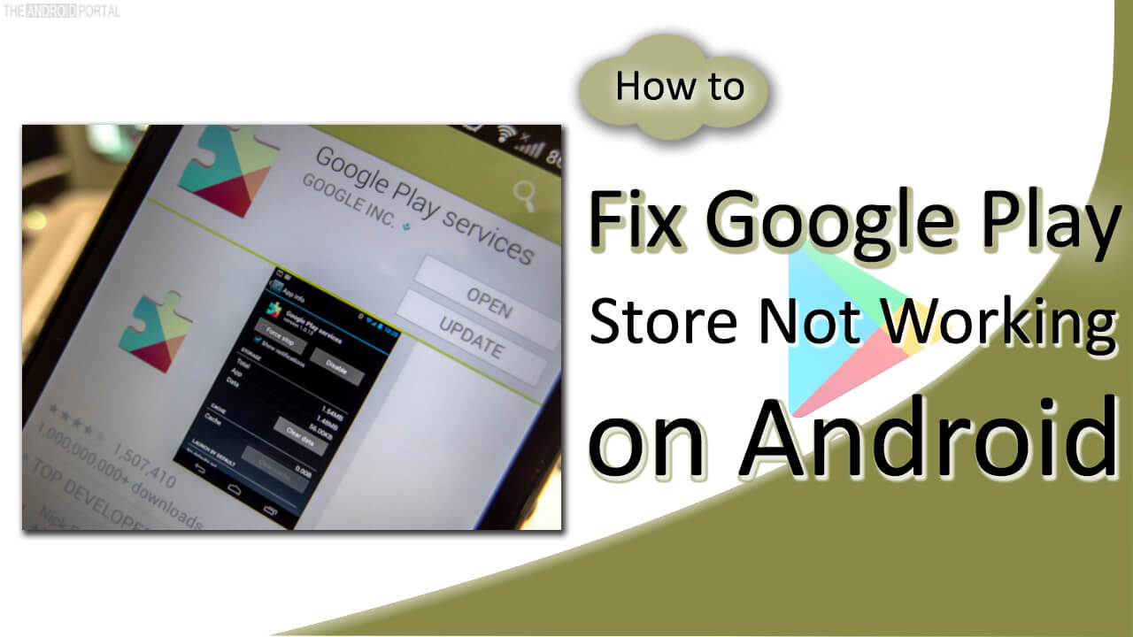 How to Fix Google Play Store Not Working on Android