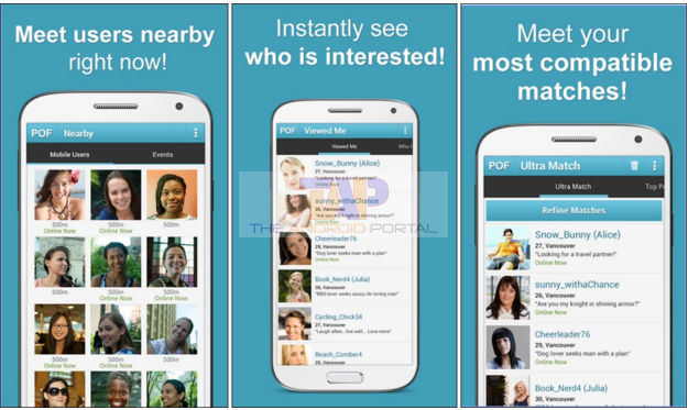 Pof mobile app for android