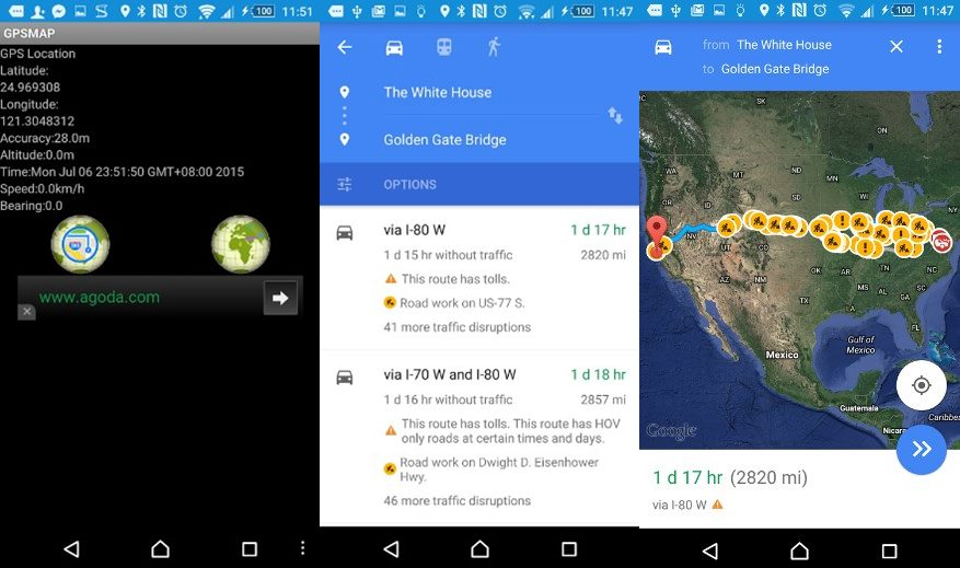 GPS Location and MAP App