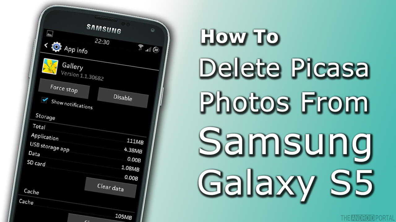 how to delete photos from picasa on galaxy s5