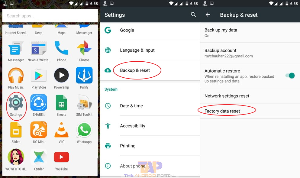 how to take safe mode off