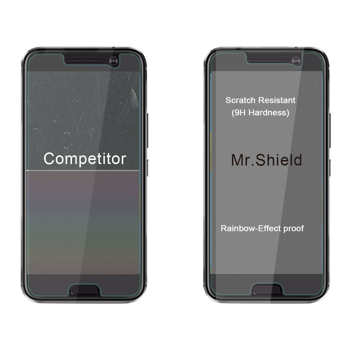 Mr. Shield Tempered Glass for HTC 10