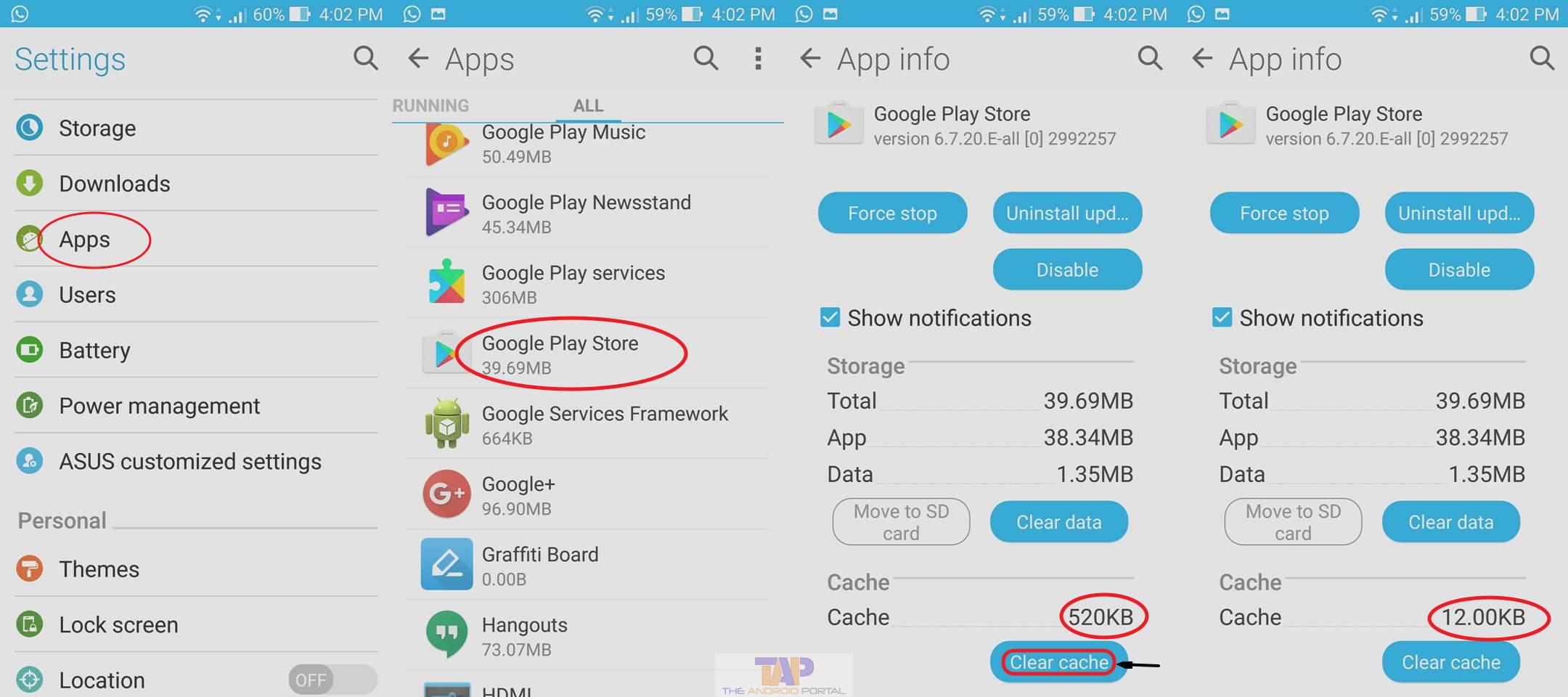 What is Cached Data on Android Smartphone & Tablets