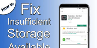 How to Fix Insufficient Storage Available on Android